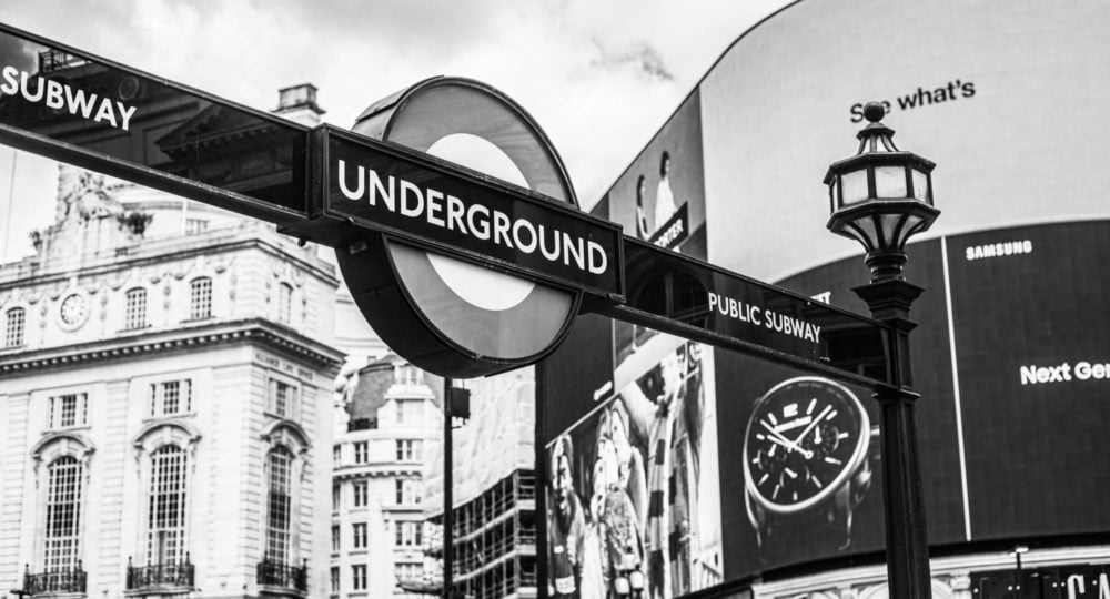 Meanderings on The London Underground station at Piccadilly Circus