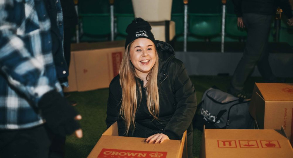 Oyster Join the LandAid SleepOut