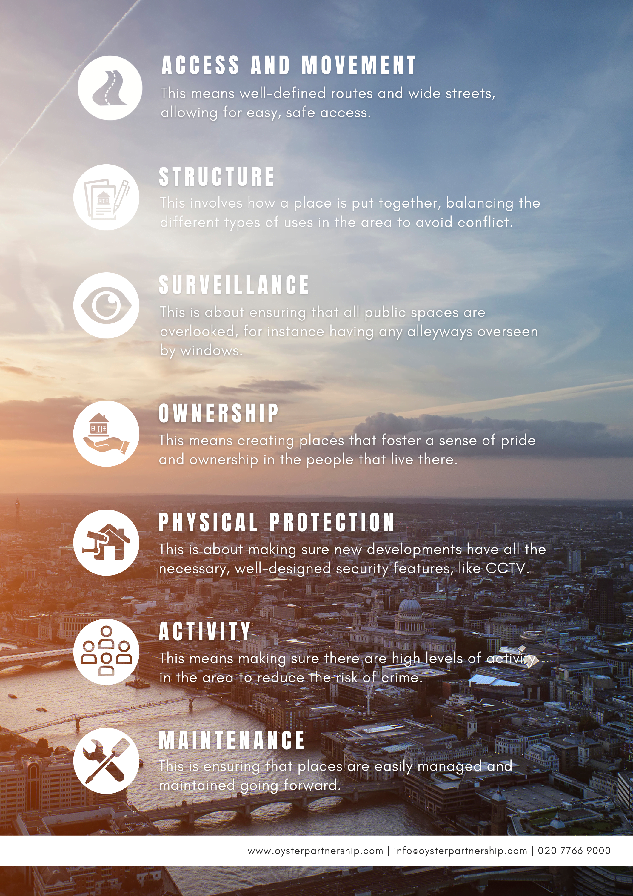 Planning safer cities